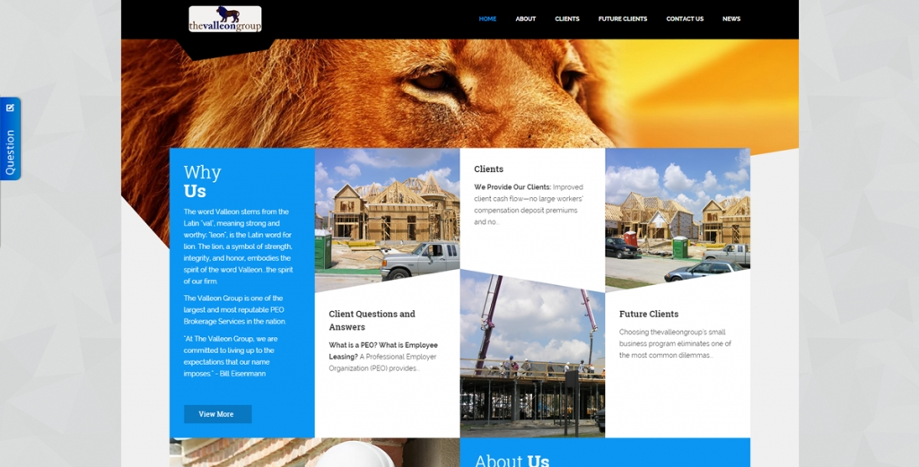 The Valleon Group - New Website