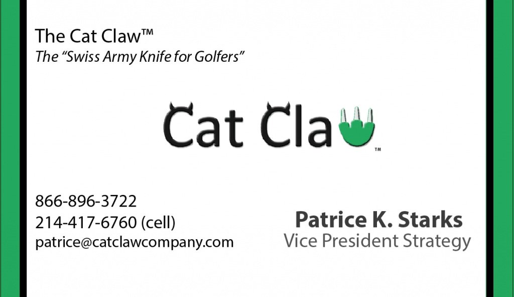 The Cat Claw - Business Card