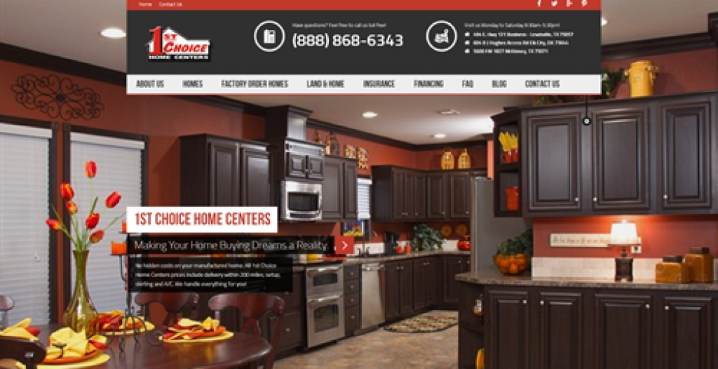 1st Choice Home Centers - New Website