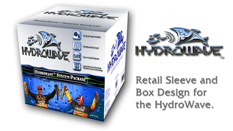 HydroWave Retail Box Designed by Butler I.T.